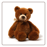 "Dougie the Bear 20"" by Gund"
