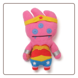 "Ugly DC Comics - DC Comics Wonderwoman-Tray 11"" Uglydoll by Pretty Ugly"