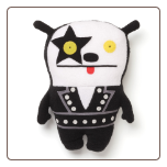 "Kiss- Big Toe Starchild 11"" by Uglydoll"
