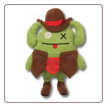 "Ugly Comics - Wild West Ox 14"" Uglydoll by Pretty Ugly"