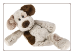 "Marshmallow Zoo Junior Puppy 9"" by Mary Meyer"
