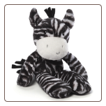 "Zola Take Along Zebra 13.5"" by Gund"