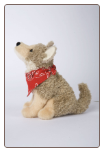 "Trickster Coyote with Bandana 6.5"" by Douglas"