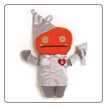 "Wizard of Oz Tin Man Wage 13"" Uglydoll by Pretty Ugly"