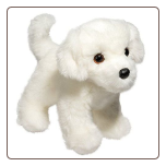 "Bailey Bichon 10"" by Douglas"