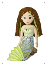 "Sabrina Mermaid 18"" by Aurora"