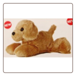 "GOLDEN Golden Retriever 8"" by Aurora"