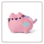 "Pusheen Cat Pastel Pink with Heart 6"" by Gund"