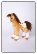 "Freckles Golden Appaloosa Foal 10"" by Douglas"