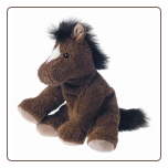 "Sweet Rascals Heather Horse 9"" by Mary Meyer"