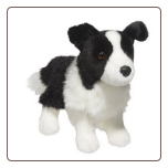 "Zippy Border Collie 10"" by Douglas"