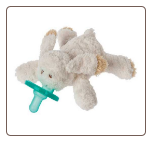 Oatmeal Bunny Wubbanub™  6″ by Mary Meyer