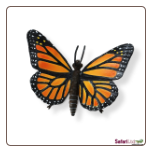 "Hidden Kingdom Insects:  Monarch Butterfly Figure 5"" by Safari Ltd"