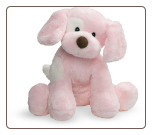 "Spunky the Dog Medium - Pink 10"" by Gund"
