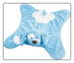 "Spunky Blue Comfy Cozy 24"" by Gund"