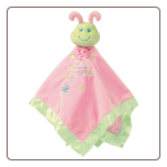 "Cutsie Caterpillar Baby Blanket 17"" by Mary Meyer"