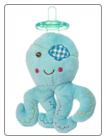 Baby Buccaneer Octopus Wubbanub ™  6″ by Mary Meyer