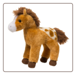 "Rey Golden Appaloosa Horse 8"" by Douglas"