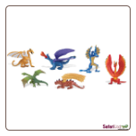 "Dragons: Lair of the Dragons Collection 1 TOOB  2"" by Safari Ltd"