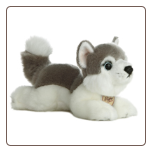 "Husky Dog Small 8"" by Miyoni"