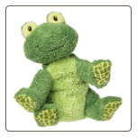 "Sweet Rascals Fletcher Frog 9"" by Mary Meyer"