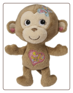 "Maddie Monkey Rattle 5"" by Mary Meyer"
