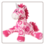 "Print Pizzazz Peaceful Pink Unicorn - 10"" by Mary Meyer"