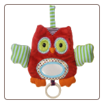 "Whooo Loves You Owl Activity Toy 11"" by Mary Meyer"