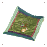 "Love You Forever Fox Cozy Blanket - 16x16"" by Mary Meyer"