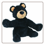 "Sweet Rascals Bristol Black Bear 9"" by Mary Meyer"