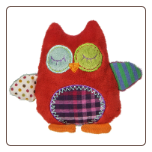 "Whooo Loves You Owl Rattle - 5"" by Mary Meyer"