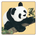"Mai-Ling Floppy Panda Bear 15"" by Douglas"