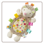 "TAGGIES Petals Hedgehog Lovey Toy 12"" by Mary Meyer"
