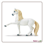 "Winner's Circle Andalusian Stallion Figure 4.5"" by Safari Ltd"
