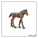 "Winner's Circle Appaloosa Foal Figure 3"" by Safari Ltd"