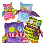 "Mary's Owls 5.5"" by Mary Meyer"