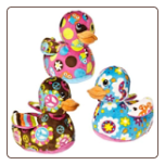 "Print Pizzazz Ducky - 5"" by Mary Meyer"