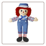 "Raggedy Andy Classic Doll 12"" by Aurora"