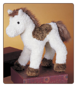 "Spotty Brown and White Horse 9"" by Douglas"