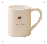 """Celebrate"" Mug 12 oz. by Gund"