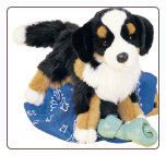 "Trevor the Bernese Mountain Dog 16"" by Douglas"