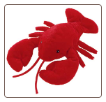 "Flip Flops Larry Lobster 12"" by Mary Meyer"
