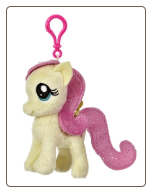 "My Little Pony - Fluttershy 4.5"" Clip-On by Aurora"