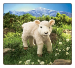"Lamb Hand Puppet 15"" by Folkmanis"