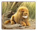 "Lion Hand Puppet 16"" by Folkmanis"
