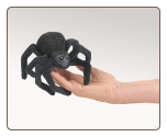 "Mini Spider Finger Puppet 5"" by Folkmanis"