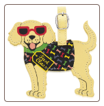Dog Luggage Tag by LittleGifts