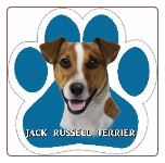 Jack Russell Terrier Car Magnet by E&S Pets