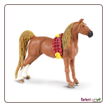 "Winner's Circle Saddlebred Gelding Figure 5"" by Safari Ltd"