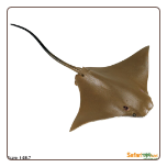 "Incredible Creatures:  Cownose Ray 8"" by Safari Ltd"